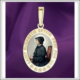 "Saint Elizabeth Seton OVAL Medal  ""EXCLUSIVE"""