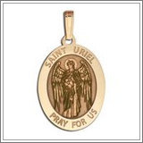 "Saint Uriel - Oval Medal ""EXCLUSIVE"""