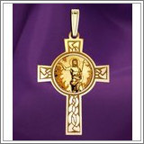 "Saint John the Baptist Cross Medal  ""EXCLUSIVE"""