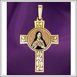 "Sacred Heart of Jesus Cross Medal ""EXCLUSIVE"""