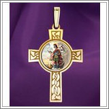 "Saint Florian Cross Medal  ""Color EXCLUSIVE"""